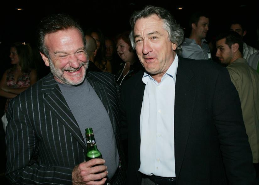 Robin Williams e De Niro insieme a una premiere