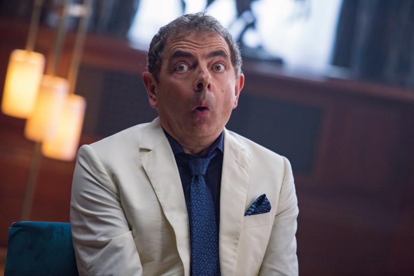 Rowan Atkinson in Johnny English colpisce ancora