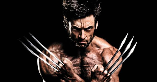 Hugh Jackman è Wolverine sul set
