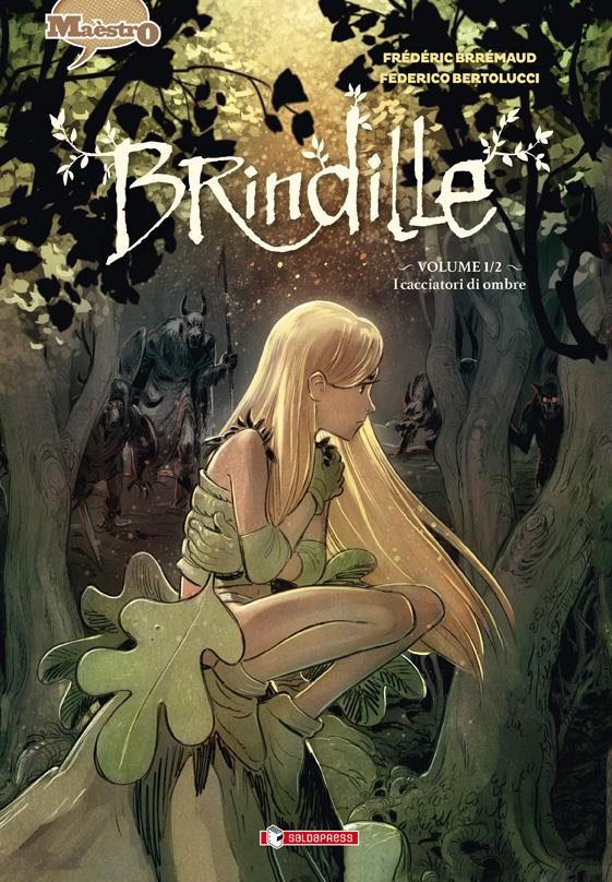 Cover del numero 1 di Brindille