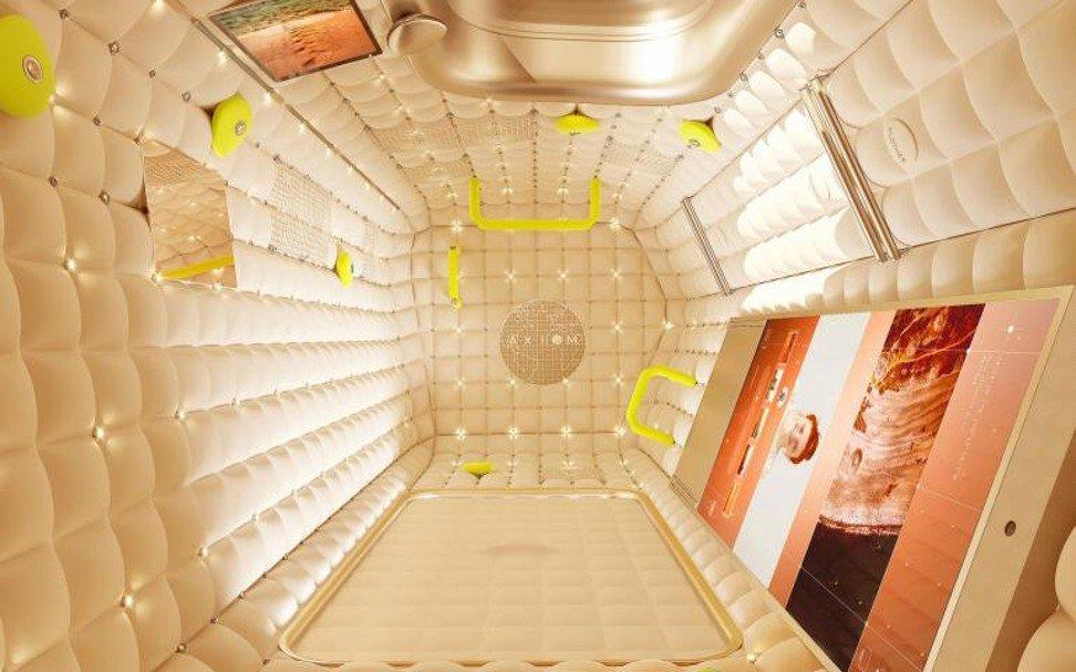Nano LED nelle parenti della Axiom Station