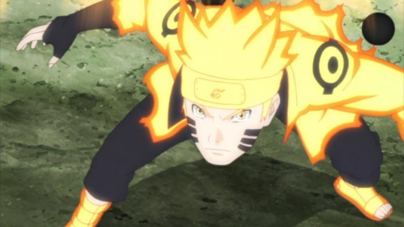 Naruto è il protagonista della serie