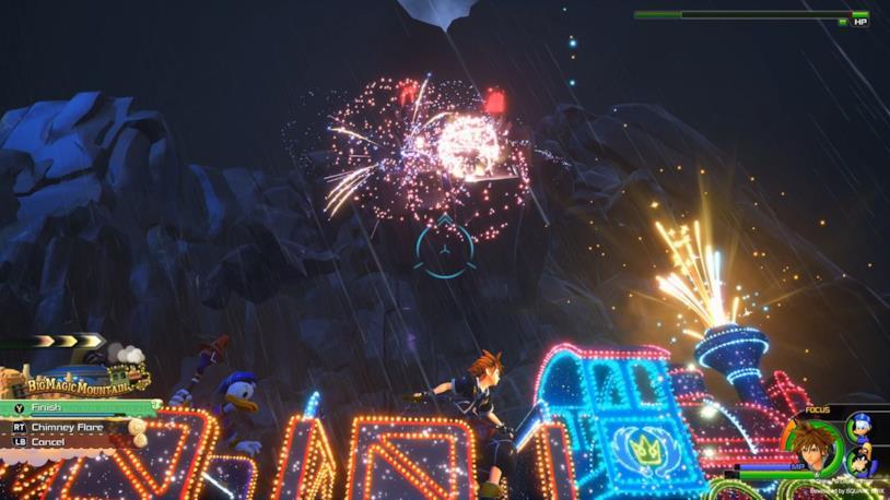 Una delle attrazioni di Kingdom Hearts 3