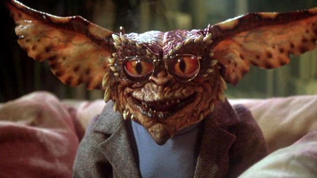 Un'immagine del film Gremlins
