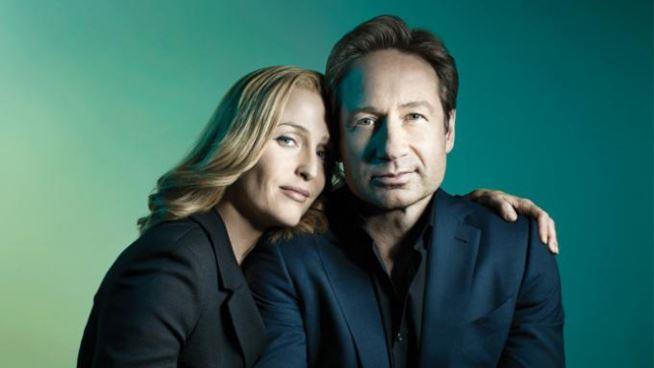 X-Files promo art
