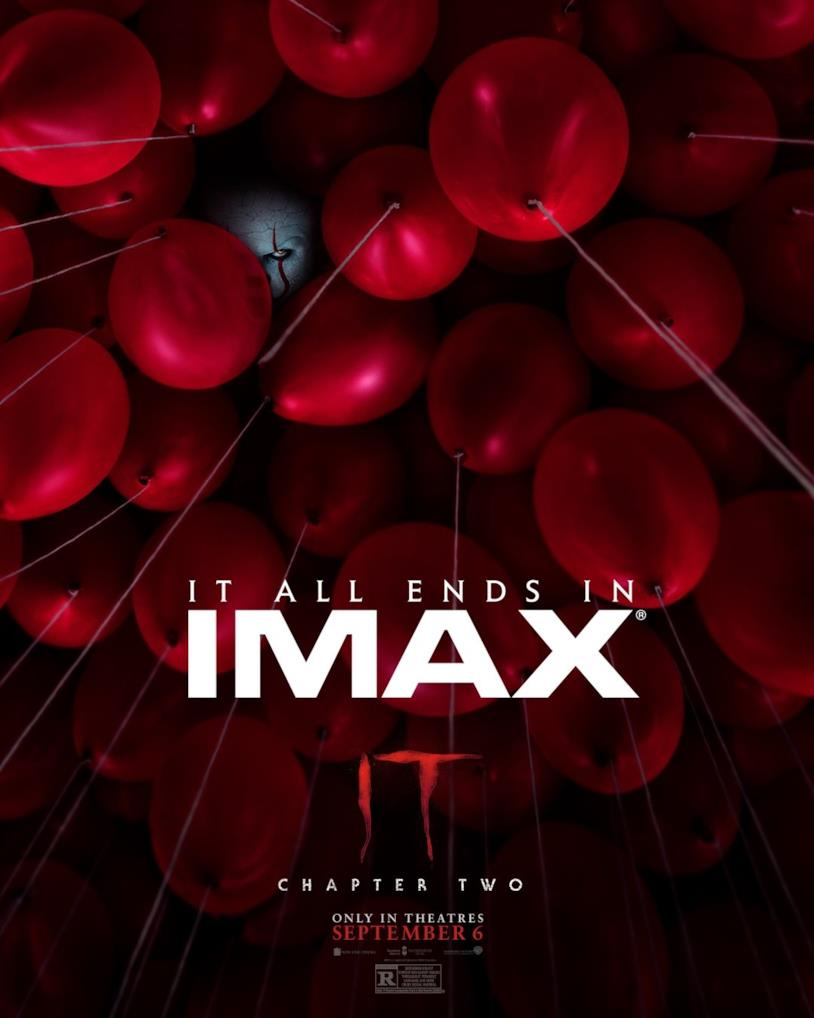 IT: Capitolo 2, poster IMAX