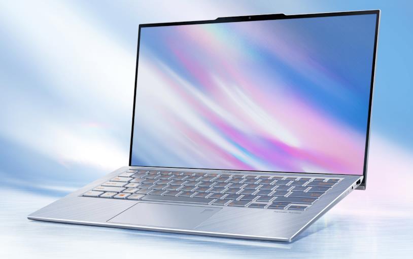 Immagine stampa dello ZenBook S13 di ASUS