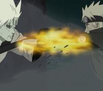 Naruto affronta Madara