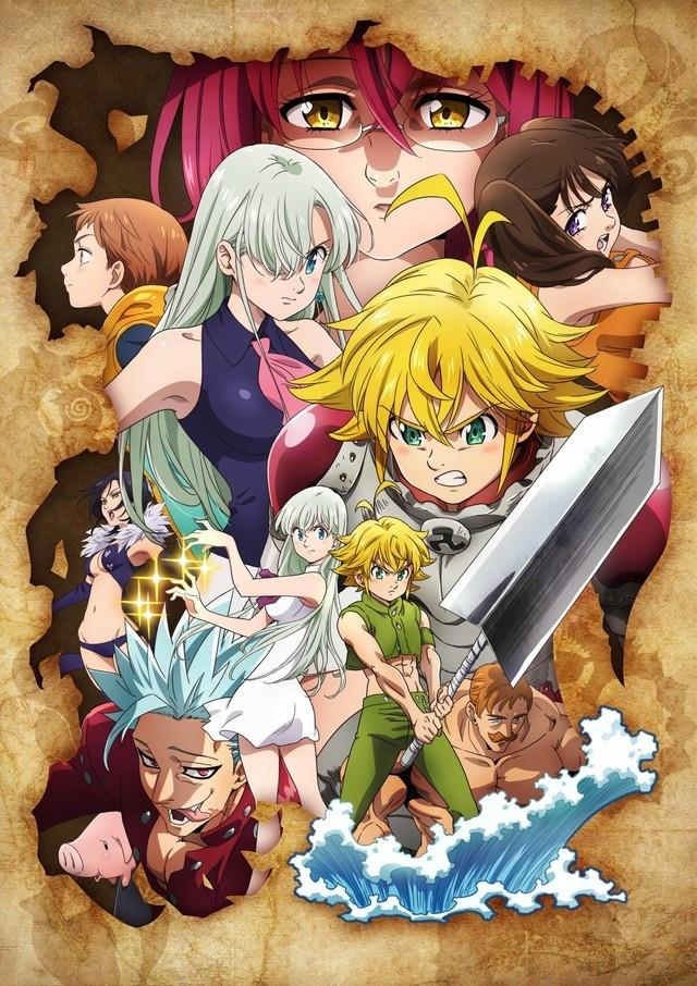 Anime The Seven Deadly Sins Wrath of the Gods
