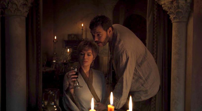 Uno scatto di Cersei da Game of Thrones 8x01
