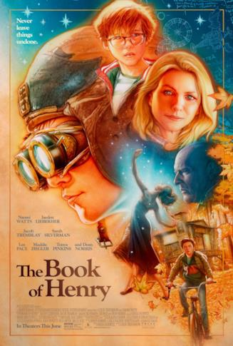 Il poster di The Book of Henry