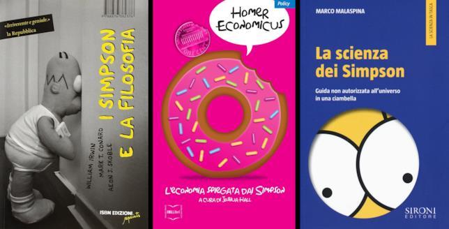Libri ispirati alla cultura Simpsoniana che sono arrivati in italia
