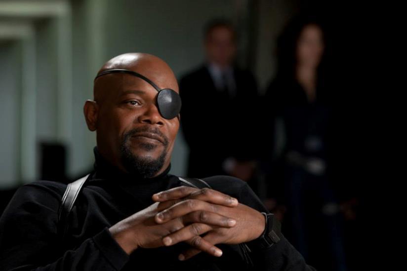 Nick Fury in Iron Man 2