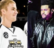 Justin Bieber contro The Weeknd