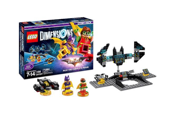Robin e Batgirl sbarcano in LEGO Dimensions