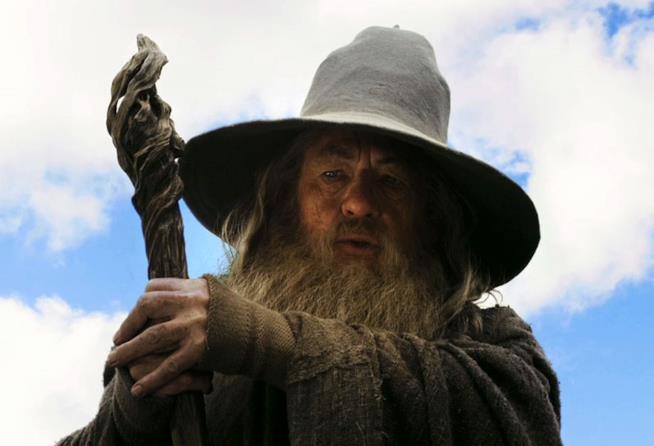 Ian McKellen è Gandalf il Grigio