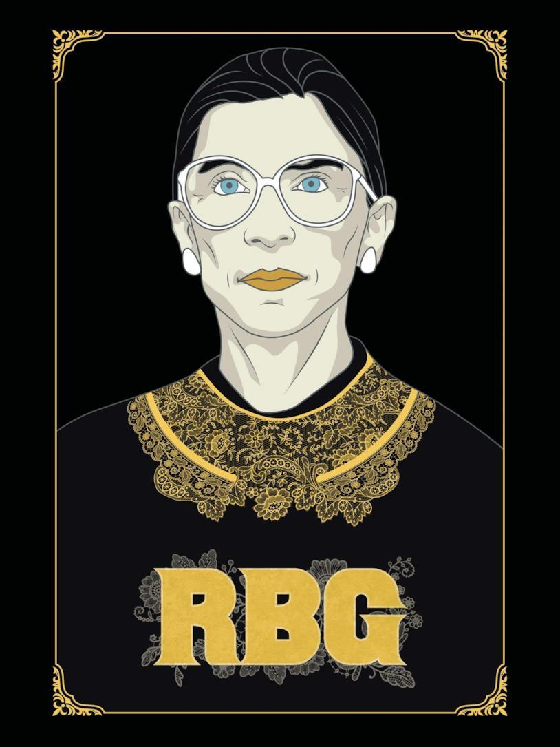 Il poster di Alla corte di Ruth - RBG