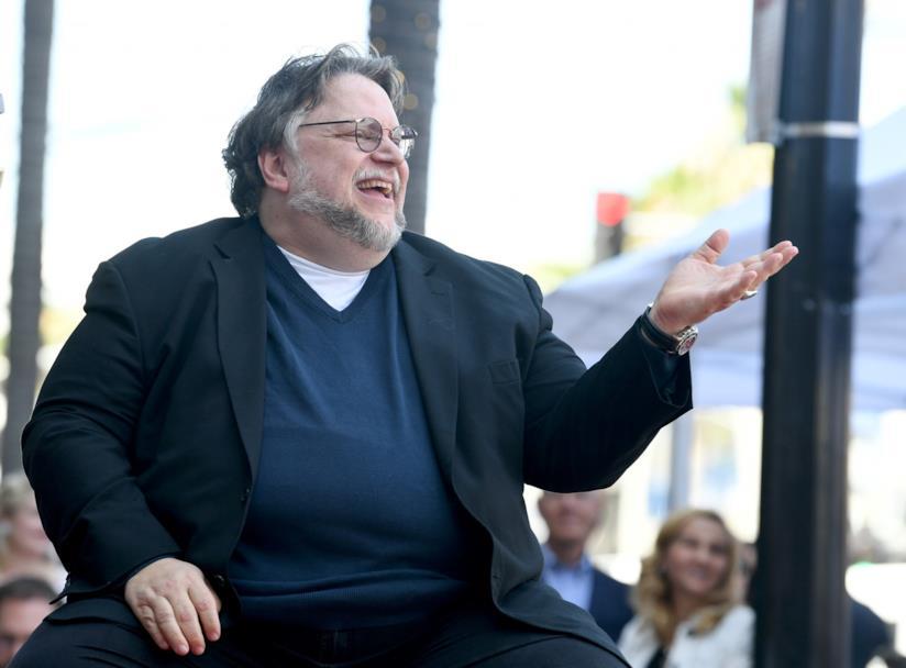 Guillermo del Toro che ride