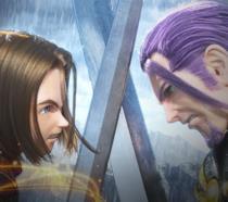 Un duello in Dragon Quest XI