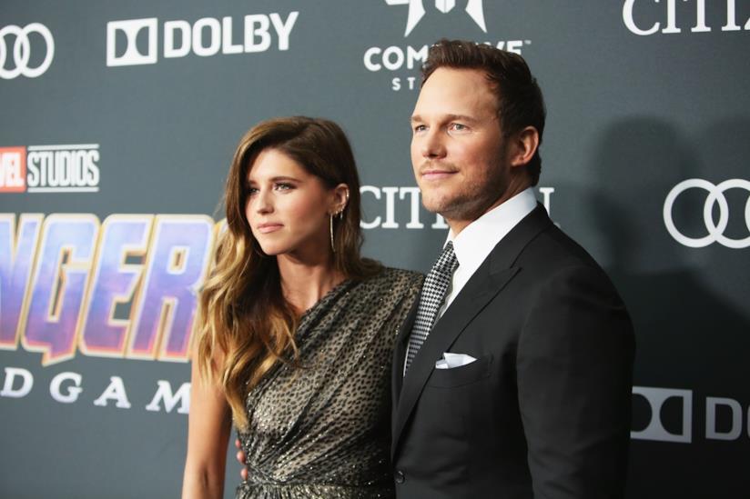 Chris Pratt e Katherine Schwarzenegger alla premiere di Avengers: Endgame