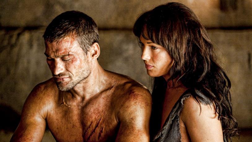 Erin Cummings in Spartacus