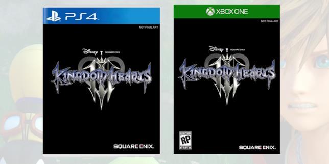 Le copertine di Kingdom Hearts 3