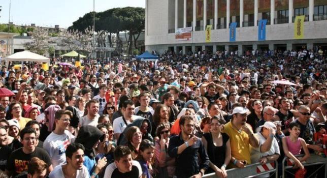 Un'immagine del Napoli COMICON