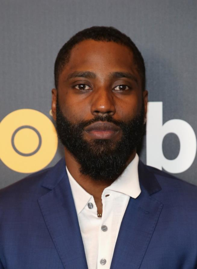 John David Washington in primo piano