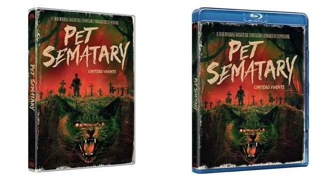 Pet Sematary - Cimitero vivente - Home Video - DVD e Blu-ray