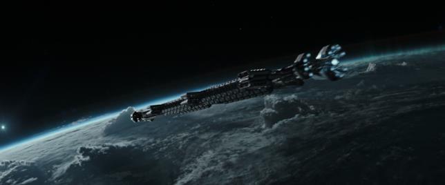 I protagonisti di Alien: Covenant viaggiano su una moderna astronave