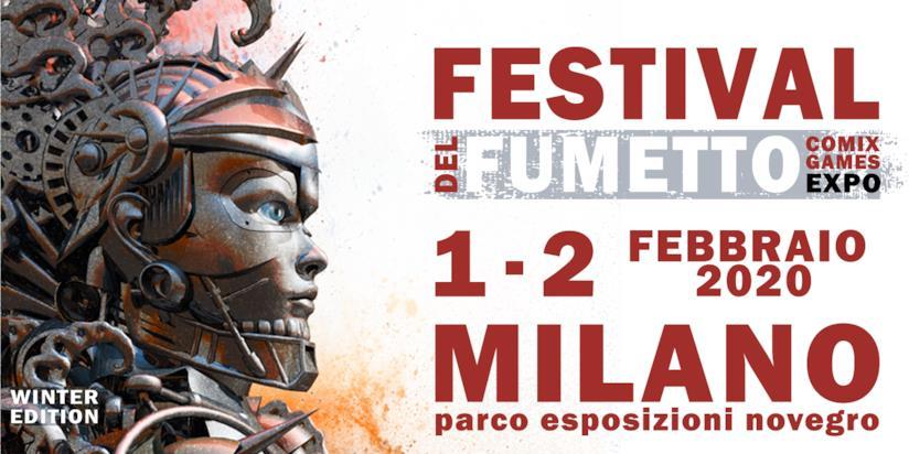 Cover del Festival del Fumetto