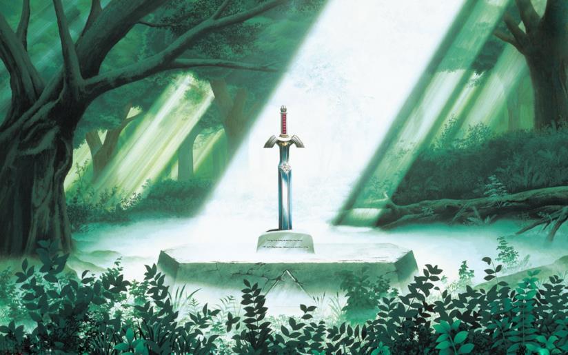 La Master Sword di The Legend of Zelda