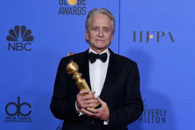 Michel Douglas premiato ai Golden Globe 2019
