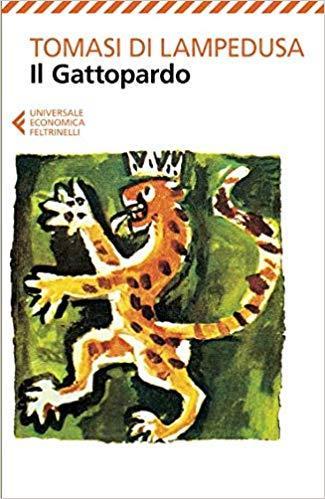 Copertina del libro Il Gattopardo