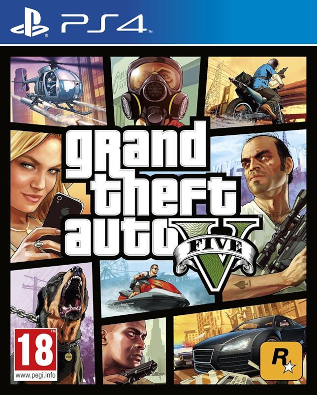 GTA V per PS4 packshot