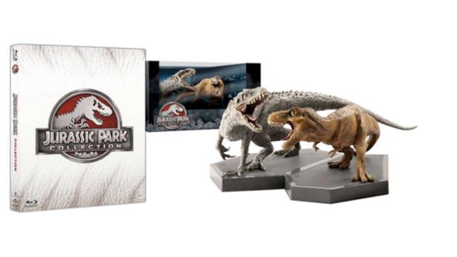 Jurassic Park Collection con statuette