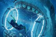 Il megalodonte tenta di mangiare una sommozzatrice
