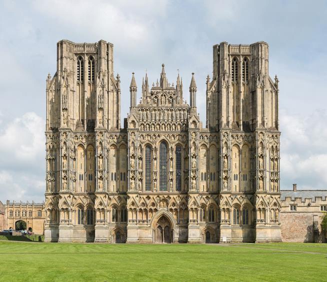 GB: la Cattedrale di Wells