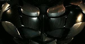 Il logo nero di Batman dal videogioco della serie Arkham