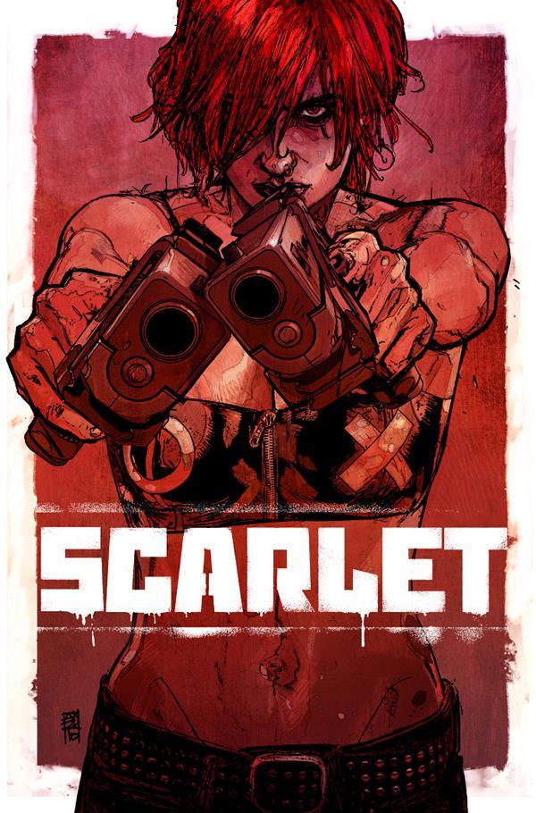 Il poster del fumetto di Scarlet