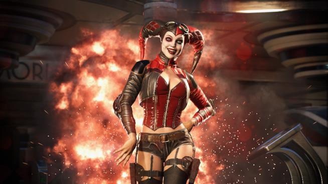 Harley Quinn scende nelle arene di Injustice 2