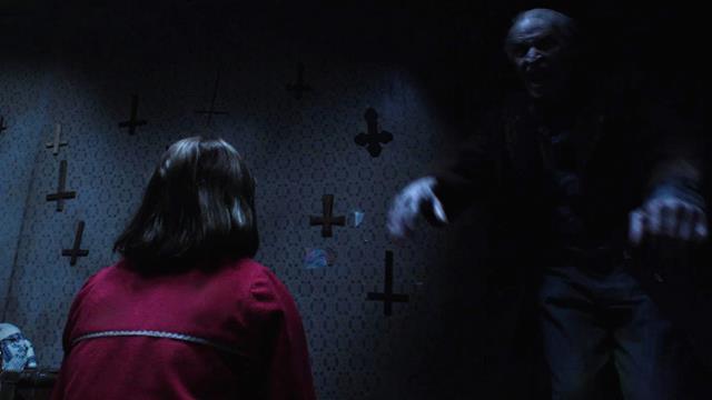 scena di The Conjuring - Il Caso Enfield