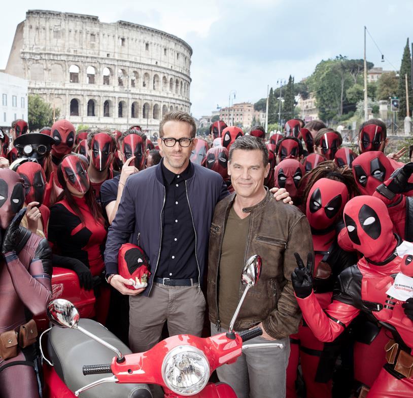 Josh e Ryan a Roma