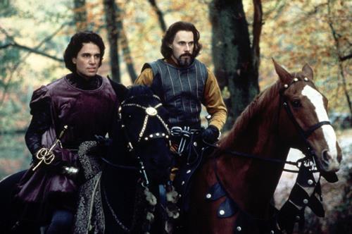 Il Principe Humperdinck e il Conte Rugen a cavallo
