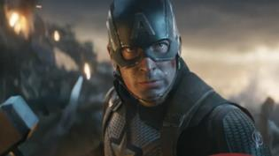 Captain America durante la battaglia finale in Avengers: Endgame