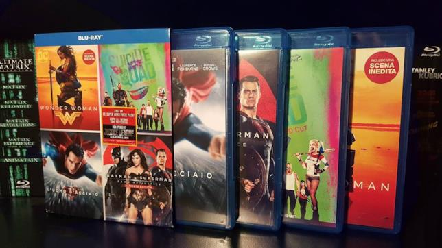 Il cofanetto Blu-ray dedicato all'Universo Cinematografico DC Comics