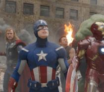 Gli Avengers nel primo film