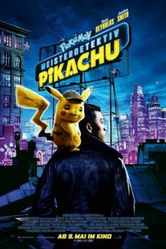 Detective Pikachu sulle spalle di Tim
