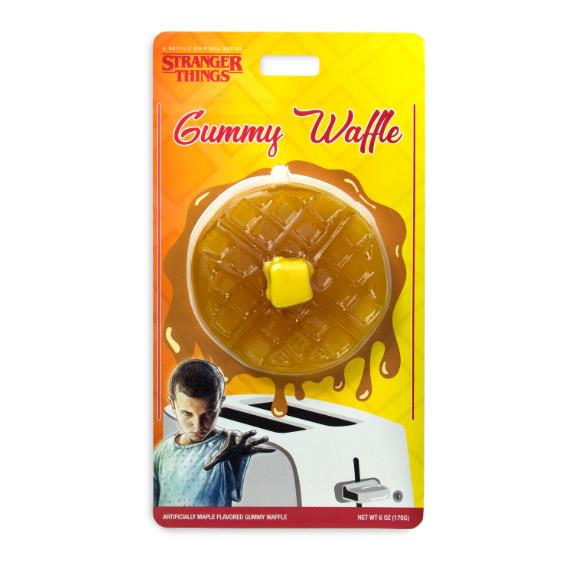 La caramella gommosa a forma di waffle di Eleven