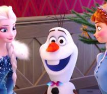Una scena di Frozen - Le avventure di Olaf